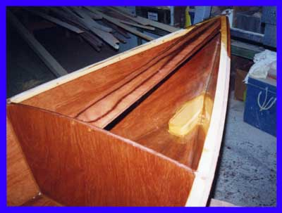 Stitch And Glue Epoxy Plywood Boat Construction