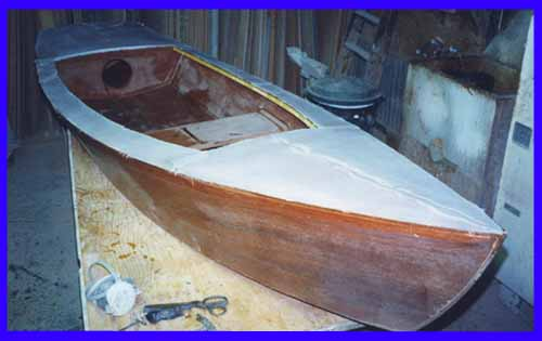 Plywood Epoxy Stitch And Glue Boat Construction