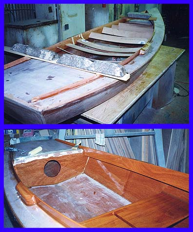 Stitch And Glue Plywood Epoxy Boat Construction